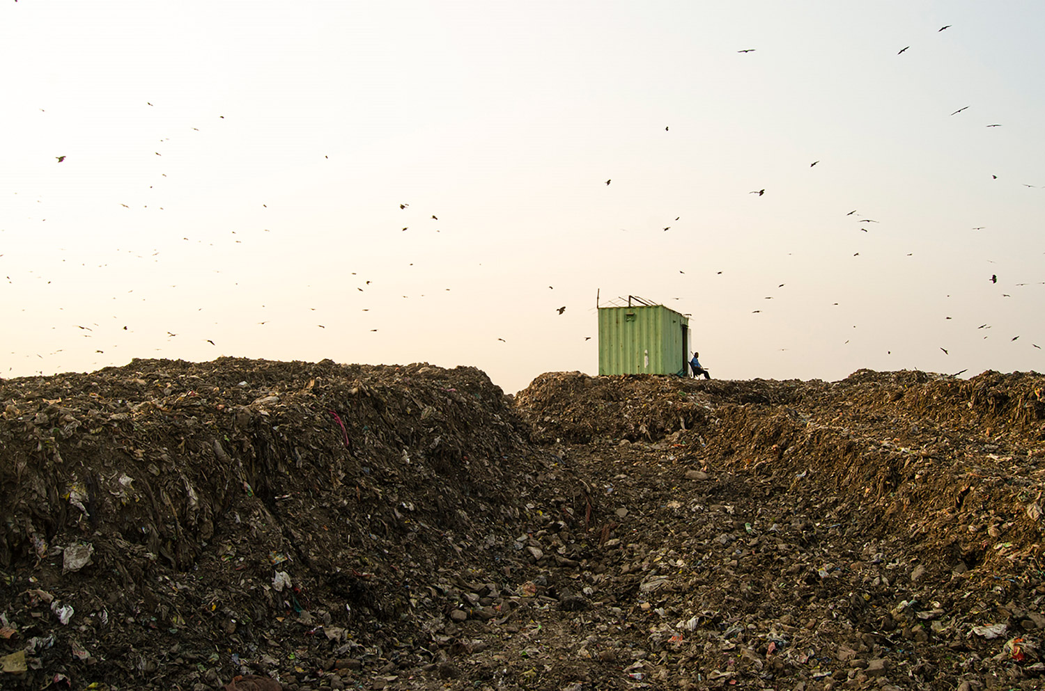 The Ghazipur Garbage Hill